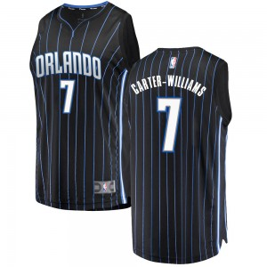 Men's Michael Carter-Williams Orlando Magic Fanatics Branded Swingman Black Fast Break Jersey - Statement Edition