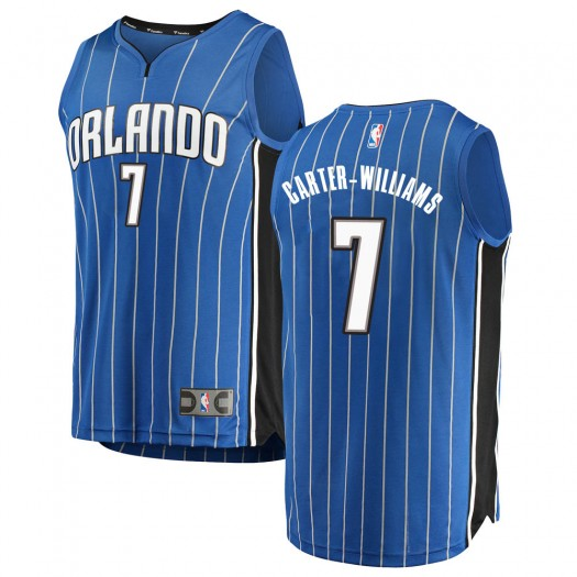 Men's Michael Carter-Williams Orlando Magic Fanatics Branded Swingman Blue Fast Break Jersey - Icon Edition