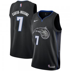 Men's Michael Carter-Williams Orlando Magic Nike Swingman Black 2018/19 Jersey - City Edition