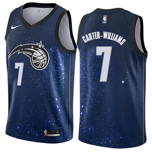 Men's Michael Carter-Williams Orlando Magic Nike Swingman Blue Jersey - City Edition