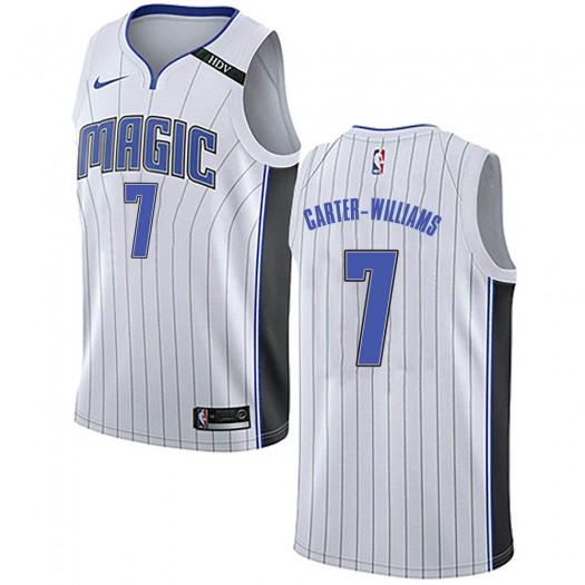 Men's Michael Carter-Williams Orlando Magic Nike Swingman White Jersey - Association Edition