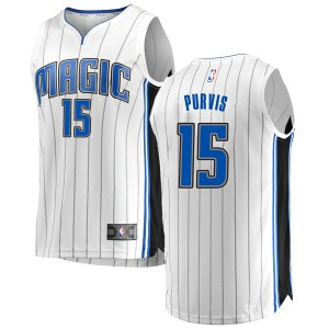 Men's Rodney Purvis Orlando Magic Fanatics Branded Swingman White Fast Break Jersey - Association Edition