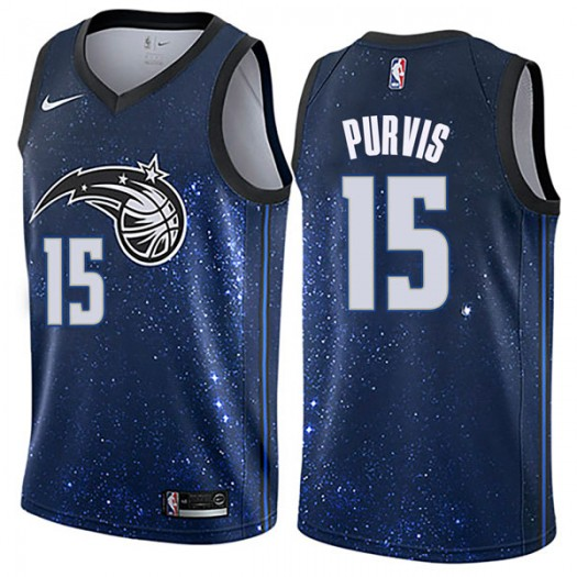 Men's Rodney Purvis Orlando Magic Nike Swingman Blue Jersey - City Edition