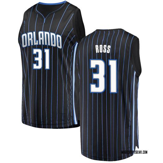 Men's Terrence Ross Orlando Magic Fanatics Branded Swingman Black Fast Break Jersey - Statement Edition