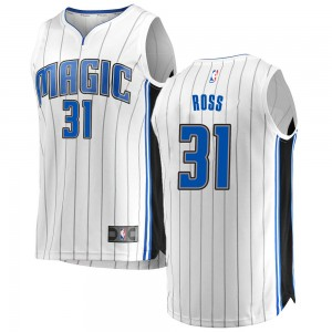 Men's Terrence Ross Orlando Magic Fanatics Branded Swingman White Fast Break Jersey - Association Edition