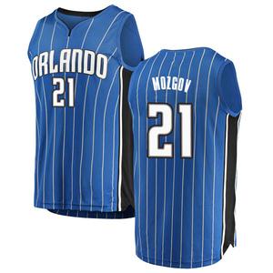 Men's Timofey Mozgov Orlando Magic Fanatics Branded Swingman Blue Fast Break Jersey - Icon Edition