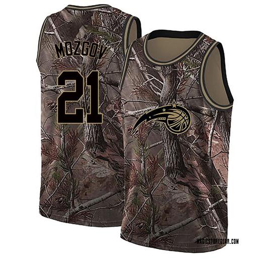 Men's Timofey Mozgov Orlando Magic Nike Swingman Camo Realtree Collection Jersey
