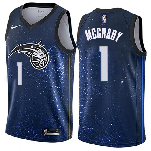 Men's Tracy Mcgrady Orlando Magic Nike Swingman Blue Jersey - City Edition