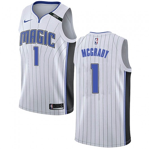 Men's Tracy Mcgrady Orlando Magic Nike Swingman White Jersey - Association Edition