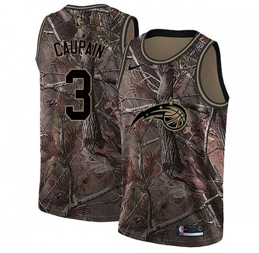 Men's Troy Caupain Orlando Magic Nike Swingman Camo Realtree Collection Jersey
