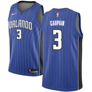 Men's Troy Caupain Orlando Magic Nike Swingman Royal Jersey - Icon Edition