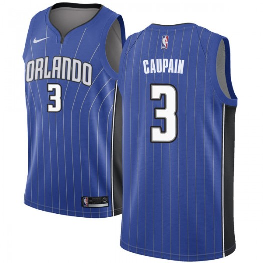 Men's Troy Caupain Orlando Magic Nike Swingman Royal Jersey - Icon Edition
