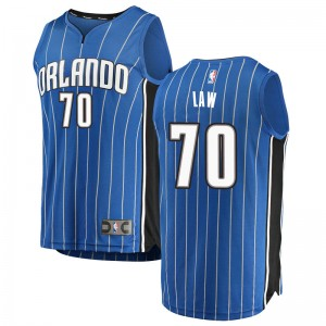 Men's Vic Law Orlando Magic Fanatics Branded Swingman Blue Fast Break Jersey - Icon Edition