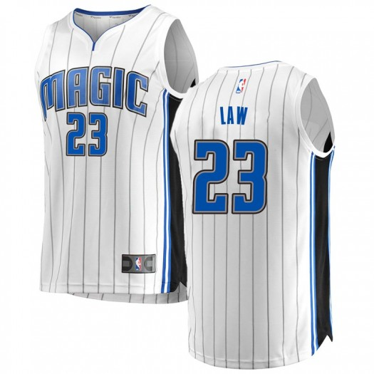Men's Vic Law Orlando Magic Fanatics Branded Swingman White Fast Break Jersey - Association Edition