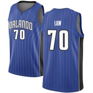 Men's Vic Law Orlando Magic Nike Swingman Royal Jersey - Icon Edition