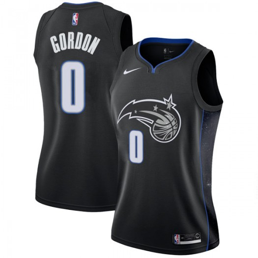 Women's Aaron Gordon Orlando Magic Nike Swingman Black 2018/19 Jersey - City Edition