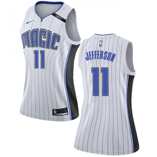 reputable site ead6f 122fe Women's Amile Jefferson Orlando Magic Nike Swingman White Jersey -  Association Edition