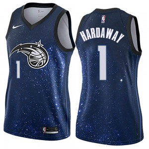 Women's Anfernee Hardaway Orlando Magic Nike Swingman Blue Jersey - City Edition