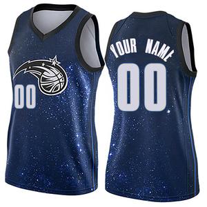 Women's Custom Orlando Magic Nike Swingman Blue Jersey - City Edition