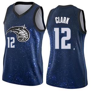 Women's Gary Clark Orlando Magic Nike Swingman Blue Jersey - City Edition