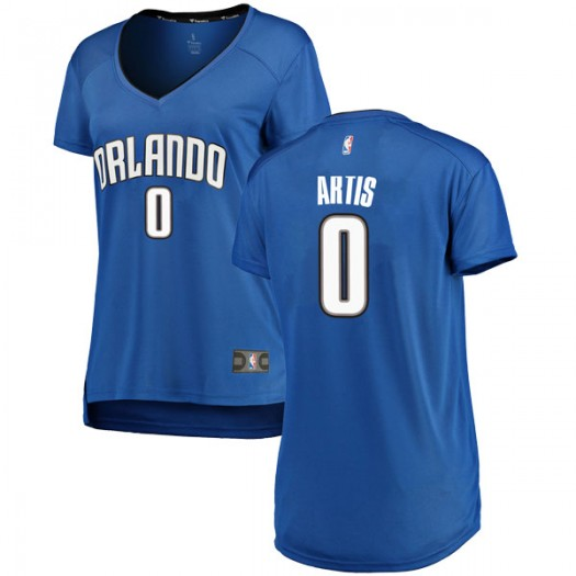 Women's Jamel Artis Orlando Magic Fanatics Branded Swingman Royal Fast Break Jersey - Icon Edition