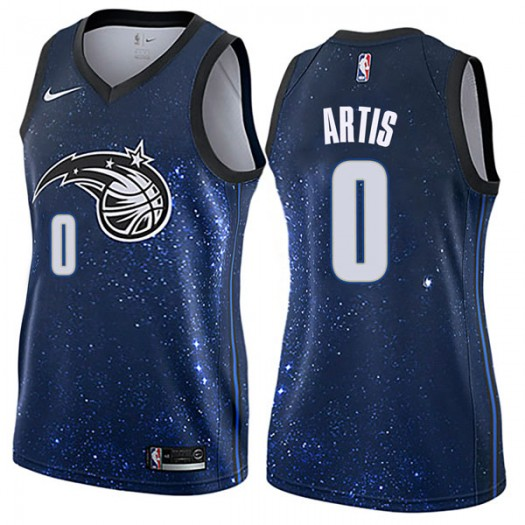 Women's Jamel Artis Orlando Magic Nike Swingman Blue Jersey - City Edition