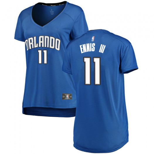 Women's James Ennis III Orlando Magic Fanatics Branded Swingman Royal Fast Break Jersey - Icon Edition