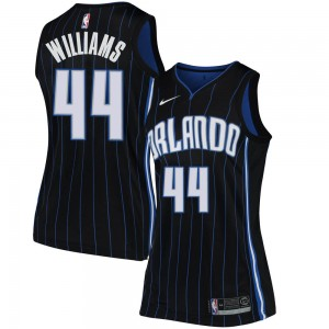 Women's Jason Williams Orlando Magic Nike Swingman Black Jersey - Statement Edition