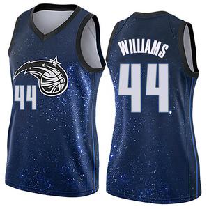 Women's Jason Williams Orlando Magic Nike Swingman Blue Jersey - City Edition