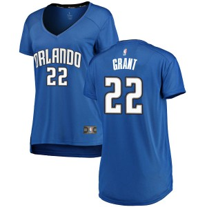 Women's Jerian Grant Orlando Magic Fanatics Branded Swingman Royal Fast Break Jersey - Icon Edition