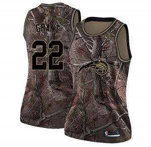 Women's Jerian Grant Orlando Magic Nike Swingman Camo Realtree Collection Jersey