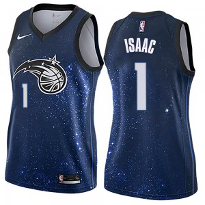 Women's Jonathan Isaac Orlando Magic Nike Swingman Blue Jersey - City Edition
