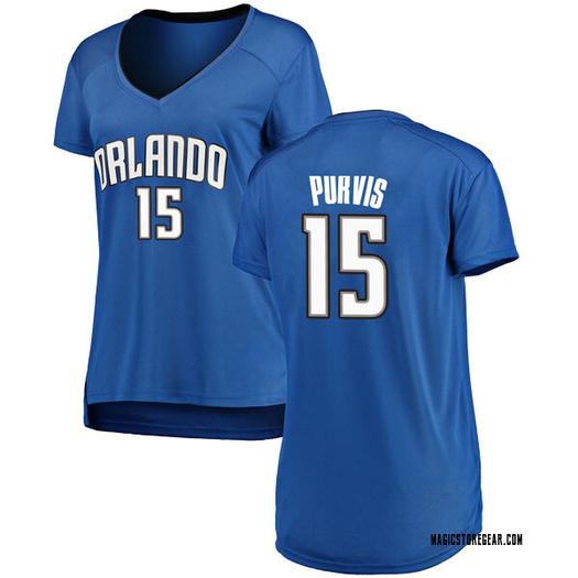 Women's Rodney Purvis Orlando Magic Fanatics Branded Swingman Royal Fast Break Jersey - Icon Edition