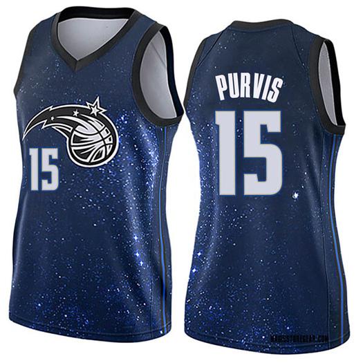 Women's Rodney Purvis Orlando Magic Nike Swingman Blue Jersey - City Edition