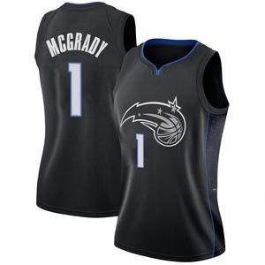 Women's Tracy Mcgrady Orlando Magic Nike Swingman Black 2018/19 Jersey - City Edition