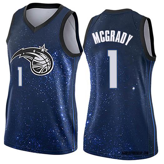 Women's Tracy Mcgrady Orlando Magic Nike Swingman Blue Jersey - City Edition