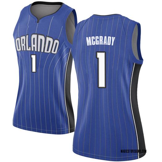 Women's Tracy Mcgrady Orlando Magic Nike Swingman Royal Jersey - Icon Edition