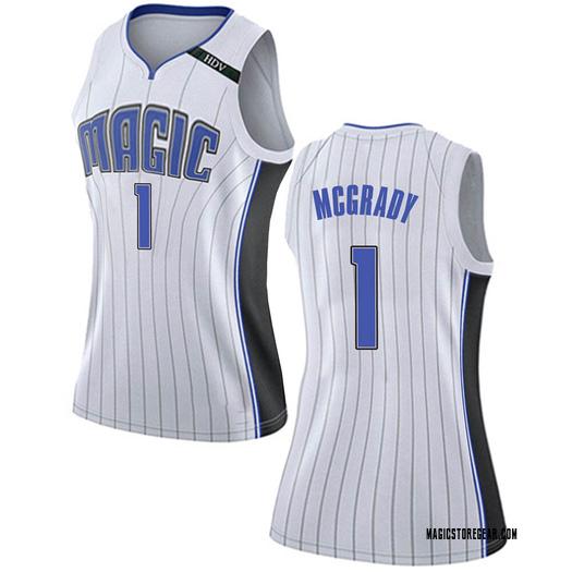 Women's Tracy Mcgrady Orlando Magic Nike Swingman White Jersey - Association Edition