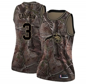 Women's Troy Caupain Orlando Magic Nike Swingman Camo Realtree Collection Jersey