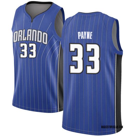 Youth Adreian Payne Orlando Magic Nike Swingman Royal Jersey - Icon Edition
