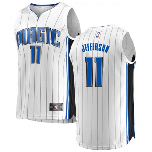 Youth Amile Jefferson Orlando Magic Fanatics Branded Swingman White Fast Break Jersey - Association Edition