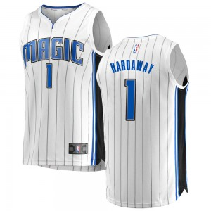 Youth Anfernee Hardaway Orlando Magic Fanatics Branded Swingman White Fast Break Jersey - Association Edition