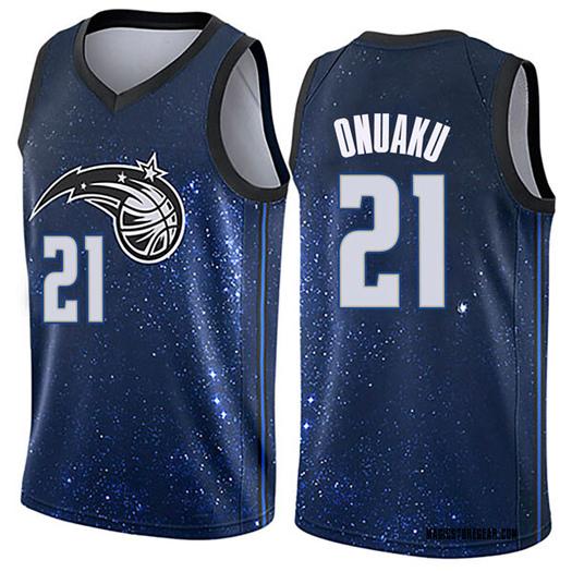 Youth Arinze Onuaku Orlando Magic Nike Swingman Blue Jersey - City Edition