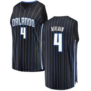 Youth Arron Afflalo Orlando Magic Fanatics Branded Swingman Black Fast Break Jersey - Statement Edition