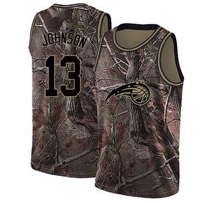 Youth B.J. Johnson Orlando Magic Nike Swingman Camo Realtree Collection Jersey
