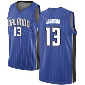 Youth B.J. Johnson Orlando Magic Nike Swingman Royal Jersey - Icon Edition