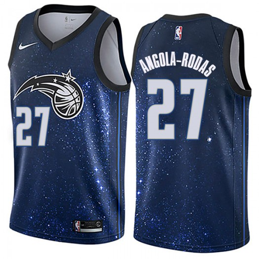 Youth Braian Angola-Rodas Orlando Magic Nike Swingman Blue Jersey - City Edition
