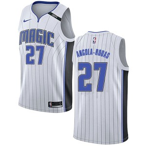 Youth Braian Angola-Rodas Orlando Magic Nike Swingman White Jersey - Association Edition