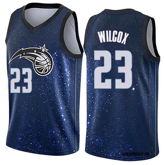 Youth C.J. Wilcox Orlando Magic Nike Swingman Blue Jersey - City Edition