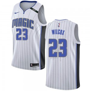 Youth C.J. Wilcox Orlando Magic Nike Swingman White Jersey - Association Edition